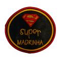 Super madrinha( redondo super homem)