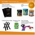 Kit Finalista (Pasta personalizada + 30 fitas timbradas + lata + 30 colinhas)