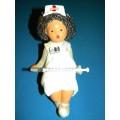 Boneca Enfermeira (Barro)