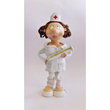 Boneca Eva - Enfermeira