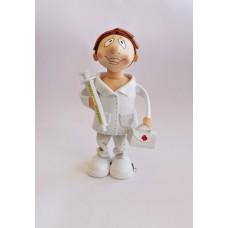 Boneco Eva - Enfermeiro