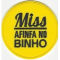 Miss afinfa no binho