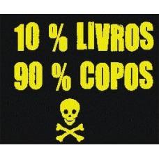 10% Livros 90% Copos