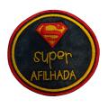 Super afilhada (redondo super homem)