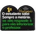 1º Mandamento do estudante
